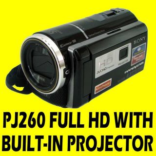 SONY HDR PJ260 PJ 260 260V HANDYCAM GPS VIDEO CAMERA CAMCORDER