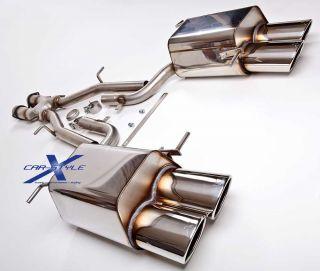 XCar Style Mercedes SLK R171 280 350 4 Rohr Auspuff Endschalldämpfer