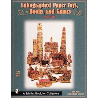 Lithographed Paper Toys Bk Judith Anderson Drawe