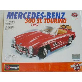 MERCEDES BENZ 300SL 300 SL CABRIO TOURING ROT 1957 KIT BAUSATZ 1/18
