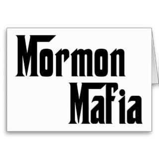 Mormon Mafia Greeting Cards
