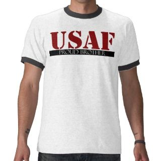 Proud Air Force Brother Tee Shirts