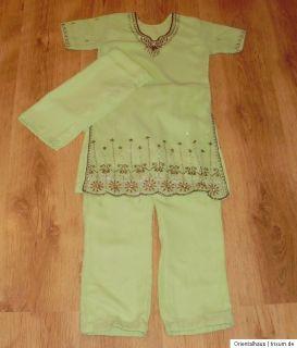 Salwar Kameez mit Schal Bollywood Indische Kleidung Sari Mädchen 8 9