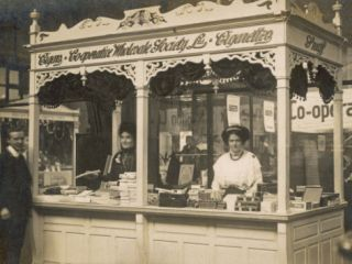 Tobacconists Stall in a Co Operative Market Photographic Print