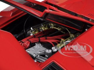 LAMBORGHINI COUNTACH LP500S RED WALTER WOLF EDITION 1/18 BY KYOSHO