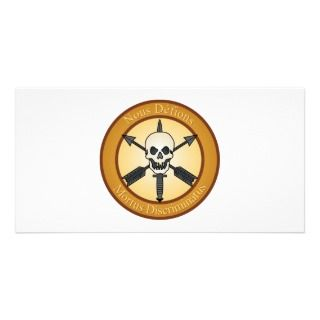 Nous Defions, Special Forces Plaque 2 Photo Greeting Card