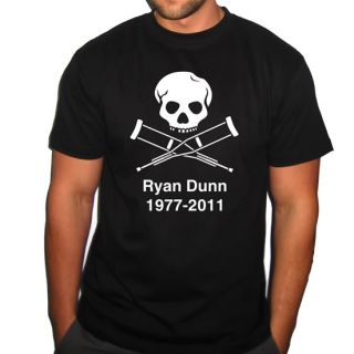 JACKASS RYAN DUNN RIP RANDOM HERO TSHIRT MENS ALL SZ