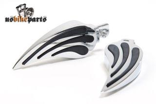 Fußrasten Teardrop Design Harley Davidson Custom