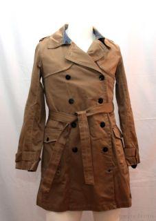Trenchcoat Gr XL camel beige Damenmantel Damen Jacke Mantel UVP 269 90