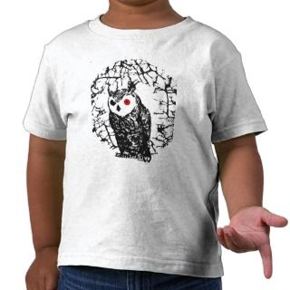 Red Eyed Owl Tshirts