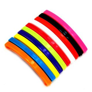 Big Candy Colors Rainbow Hair Clip Barrette Bobby Pin Hairpin 10 Pairs