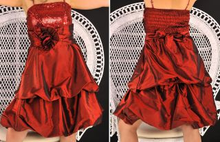 ABENDKLEID COCKTAIL BaLL KleiD SATIN PailleTTen RoT