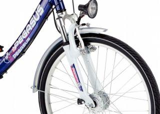 Kinderfahrrad Pegasus Avanti 24 Zoll City Fahrrad Shimano 7 Gang 36 cm