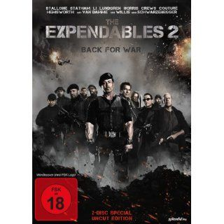 The Expendables 2   Back for War Special Uncut Edition 2 DVDs Special