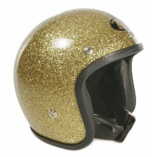 Helm 70 S HELMETS Gr. S, gold metalflake, GFK, Jethelm, Limited