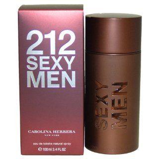 Carolina Herrera 212 Sexy Men, Eau de Toilette, homme/man, 100 ml