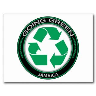 Recycle Jamaica Postcards