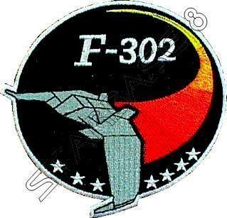 302 PILOTEN ABZEICHEN   Uniform Aufnäher   STARGATE SG 1