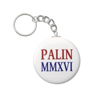 Palin MMXVI Key Chain