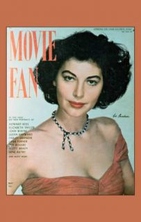 Gardner, Ava   Movie Fan Magazine Cover 1940s Masterprint