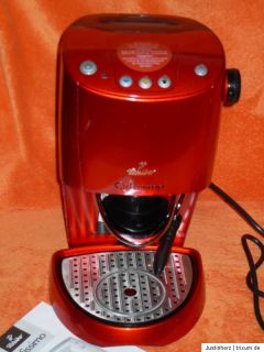 TCHIBO Cafissimo   Kaffeemaschine   Rot   für Bastler geeignet