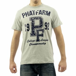 Phat Farm Herren T Shirt ,,PFS12TS002 305 College League Championship