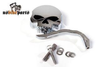 Custom Spiegel Skull Totenkopf Zombie Chrom Harley Davidson Custom neu