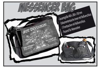 Messenger Bag  Joy Division Concert  Schultertasche, Schultasche