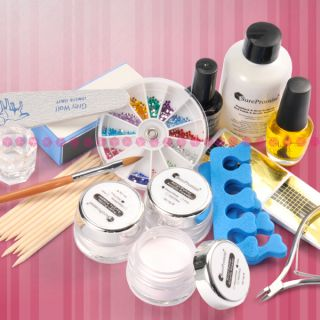 Manicure/Pedicure Acrylic Nail Art Kit Set Power 15 in1