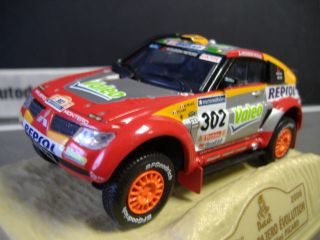 MITSUBISHI Pajero EVO Rallye #302 Repsol Alphand Winner Alt Norev 143