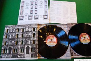 Led Zeppelin Physical Graffiti Vinyl Doppel LP Mint JAPAN Press OBI P