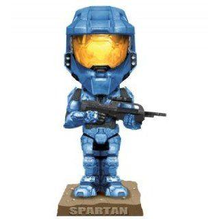 Halo 3 Master Chief Spartan Soldier Blue Bobble Head 18cm Wackelkopf