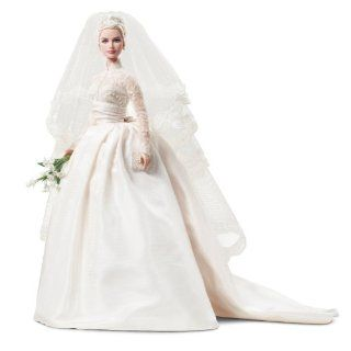 Barbie Collector # T7942 Grace Kelly Bride Silkstone