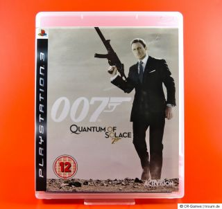 James Bond 007  Ein Quantum Trost   uncut   wie neu   deutsch   PS3
