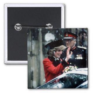 No.73 Princess Diana Cambridge 1985 Buttons