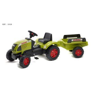 BIG 70452251   Traktor mit Ladeschaufel + Hänger CLAAS CELTIS