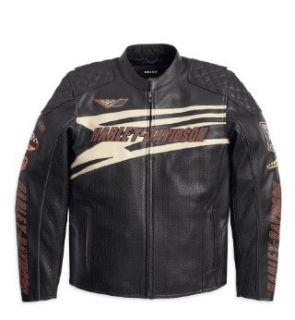 Harley Davidson Lederjacke Darkness 97088 12VM Herren Outerwear