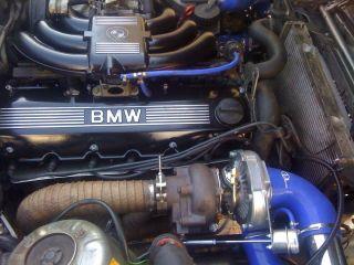 BMW E30 325 Turbo Motor Umbau Mit Getriebe