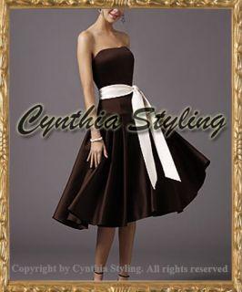 Abendkleid Ballkleid Cocktailkleid 34 46 n.Maße v.Farbe