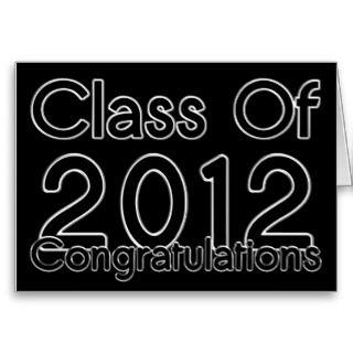2012 Graduation Congratulations Card