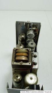 Klangfilm KL V073, stereo tube amplifier in original condition  real