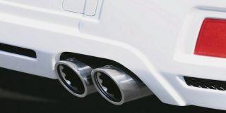 Brabus Heckaufsatz für Auspuffschacht für Mercedes GLK X204 ohne AMG