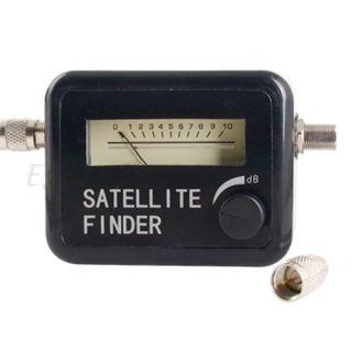 Digital SAT Finder Satfinder für SAT Anlage +Koaxkabel