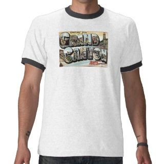 Arizona AR Grand Canyon Greetings Tee Shirt