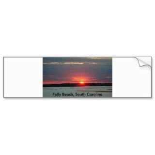 Bumper Sticker, Folly Beach, South Carolina