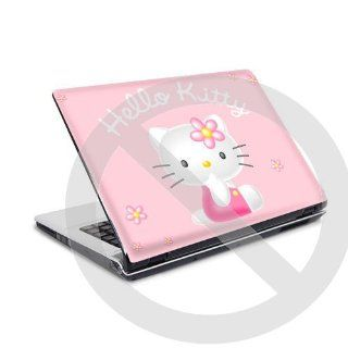 Laptop Skin Notebook Cover Aufkleber Hello Kitty 3d