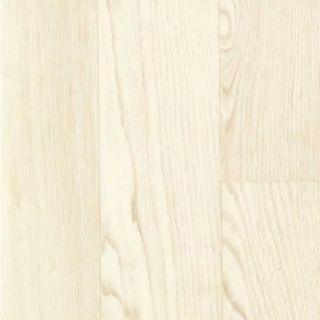 WHITE & CREAM WOOD PLANK RHINOFLOOR VINYL FLOORING SLIP RESISTANT