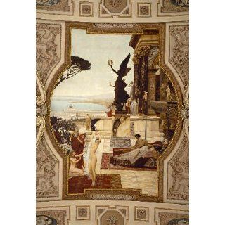 Kunstreproduktion Gustav Klimt Das antike Theater in Taormina 61 x