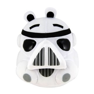Angry Birds Star Wars 5 Plush   Storm Trooper [NEW]