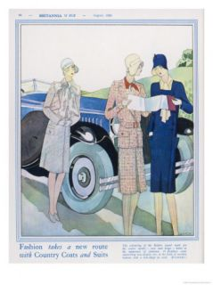 Two Ladies Consult the Map While a Third Watches Hoping Her Friends Know Giclee Print by G. Sacy